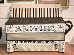 Tony Lovello's Father's Iorio Accordion