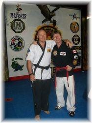 Gregor Engler and Professor Steve Stewart 2009