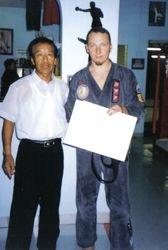 Master Lee and Gregor Engler 2001
