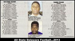 All State 2013 plus 2nd and 3rd Team All State
