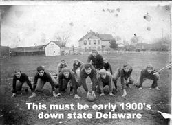 From early beginning of Delaware Football