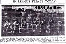 1931, Sallies