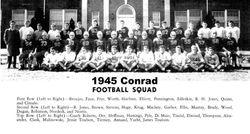 1945, Conrad High