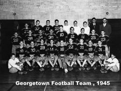 1945, Georgetown football team