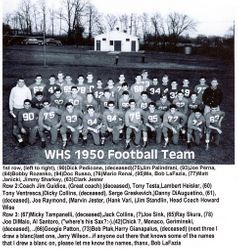 1950, Wilmington High Football team