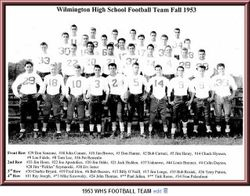 1953, Wilmington High football team