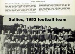 1953, Sallies Team