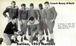 1953, Sallies