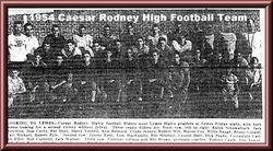 1954, Caesar Rodney High