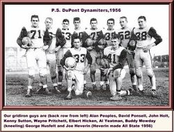 1956, PS duPont High football team...some