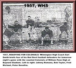1957, WHS football defenders