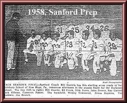 1958, Sanford Prep