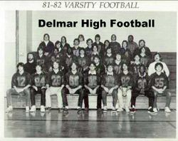 1981, Delmar High football team