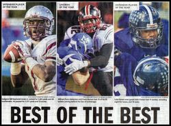 2014 MVP'S for All State Delaware team