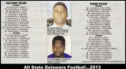 2013 All State football team