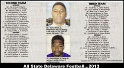 2013 All State team Plus 2nd and 3rd teams