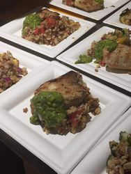 A Taste of Pollo a la Plancha with Chimichurri
