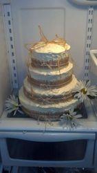 Custom Rustic Wedding Cake