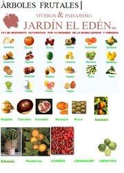 Especies  de Arboles Frutales