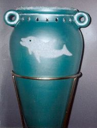 Close up vase