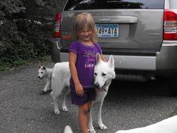 Diamond, a little girl's new best friend