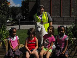 Diamond's debut at Rochester Girls and Boys Club in Rochester MN, 22 June 2010