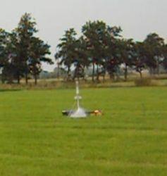 Combi+ bij 'Lancering 4L raket 5'