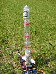 6L waterraket klaar voor lancering