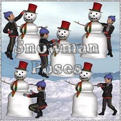 Snowman Poses
