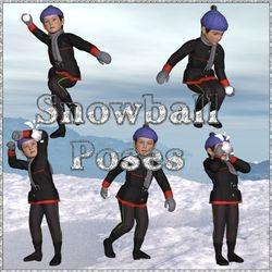 Snowball Poses