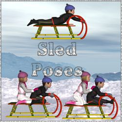 Sled Poses