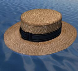 Straw Boater 1