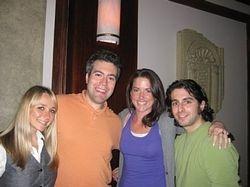 Michelle, John, Kristine & I