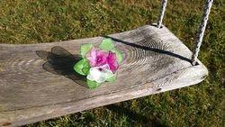 MINI SOPEK - orhidejno/ciklamno vijolicna + roza + bela
