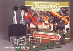 1st subbuteo set in oldtown feb 1984