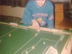 Patrick playing in 1986
