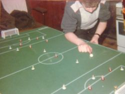 Ciaran in action in 1986