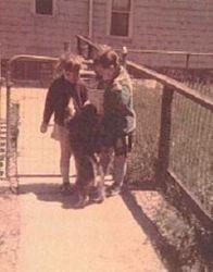 Virginia, Barb & Pepper 1971