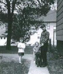Barb, Virginia & Eddie 1968