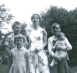 Susan's Graduation 1963