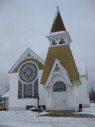 December 2010 snowy noon