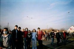 Sa delom III2 na eko protestu 2006.
