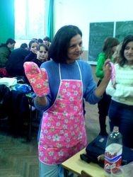 Razredna u ulozi domacice  - Nikoljdan 2006.