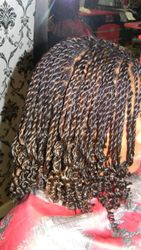 ROPE TWIST EXTENSIONS WITH CURLY ENDS