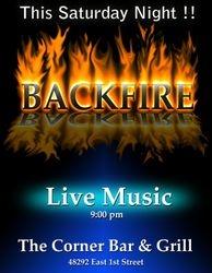 BackFire Band Poster
