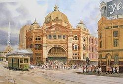 Flinders Street Station -  $45
