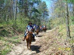May 2009 ride at St. Williams