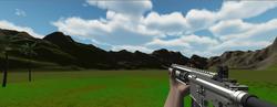 Hand / Gun implemented