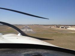 Landing at Tyler Pounds Regional Airport (KTYR)