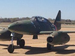 Nice view of Messerschmitt Me262